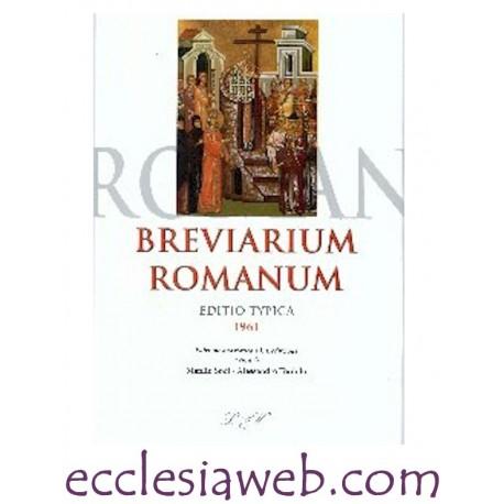 BREVIARIUM ROMANUM. EDIZIONE TYPICA 1961