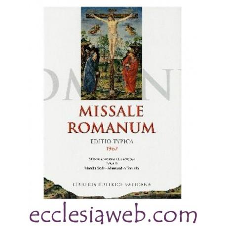 MISSALE ROMANUM - EDITIO TYPICA 1962