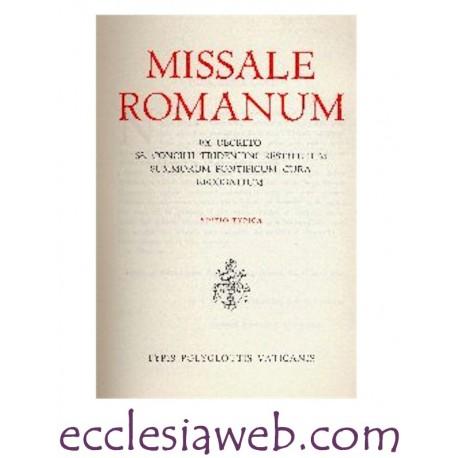 MISSALE ROMANUM EDIZIONE 1962 IN PELLE