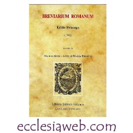 BREVIARUM ROMANUM. EDITIO PRINCEPS 1568