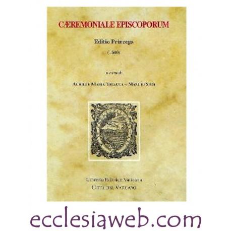 CAERIMONIALE EPISCOPORUM. EDITIO PRINCEPS 1600