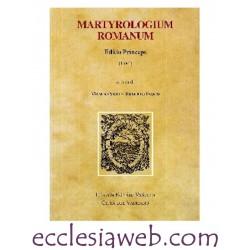 MARTYROLOGIUM ROMANUM. EDITIO PRINCEPS (1584)