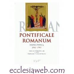 PONTIFICALE ROMANUM EDITIO TYPICA 1961-1962
