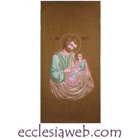 TELO DA PARETE - PAPA GIOVANNI XXIIITELO DA PARETE - SAN GIUSEPPE (BIZANTINO)