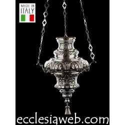 LAMPADA VOTIVA IN ARGENTO - CESELLATA
