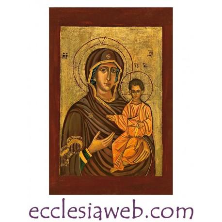 ICONA SACRA - MADRE DI DIO DI ODIGHITRIA
