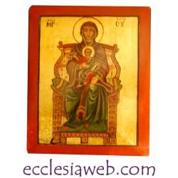 ICONA SACRA - MADRE DI DIO IN TRONO