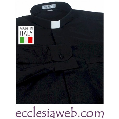 CAMICIA CLERGY EASY STRECH NO STIRO MANICA LUNGA