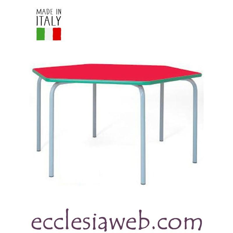 Tavolo Esagonale Scuola Materna