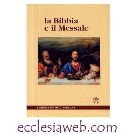 LA BIBBIA E IL MESSALE CD ROM