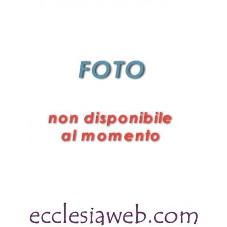 CAMICIA COLLO ROMANO PURO COTONE FIL A FIL MANICA CORTA
