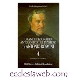 GRANDE DIZIONARIO ANTOLOGICO DEL PENSIERO DI ANTONIO ROSMINI